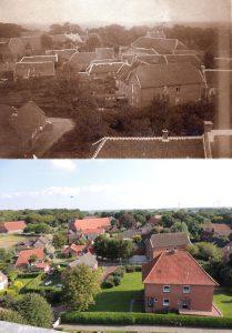 Dorf vom Kirchturm