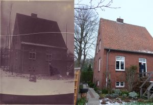 Früher und Heute: Wohnhaus Matthias-Claudius-Str.