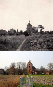Früher und Heute - Karkpadd und Kirche