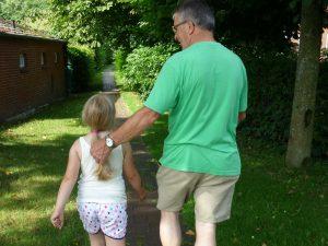 Dorfführung mit den Kindergartaen Schulkindern