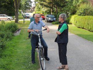 Einweihung der E-Bike Ladestation 19.7.13